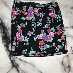 Candies Floral mini skirt